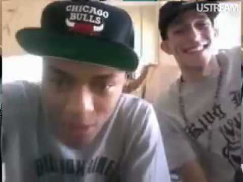 @bowwow and @khleo_t chillen on ustream part1