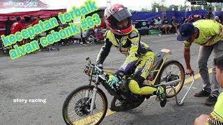 GaKalah sama Thailand, ALVAN CEBONK buktikan 6,6detik Ninja FFA Drag Bike Kawahara IDC