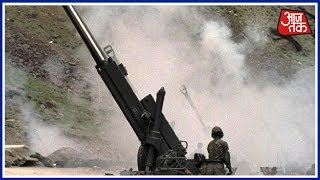 Pakistan's Provocative Shelling Continues; BSF Gives Befitting Reply | Shatak AajTak