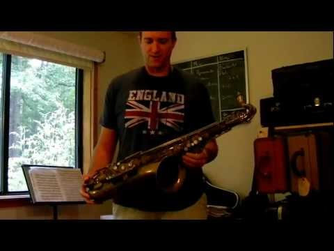 Playtest of Matt Stohrer Overhaul on 1954 Selmer Mark VI