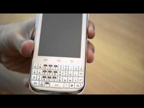 Samsung Galaxy Chat - quick review - hardware. body and design