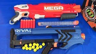 Nerf Rival Zeus Nerf Mega Double Breach Toy Guns Box of Toys