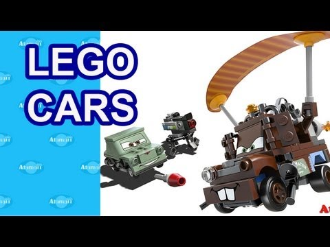 LEGO Cars Movie Toys London Toy Fair Preview