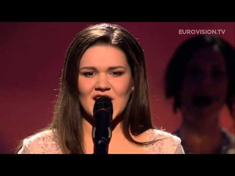 Dina Garipova - What If (Russia) - LIVE - 2013 Semi-Final (1)