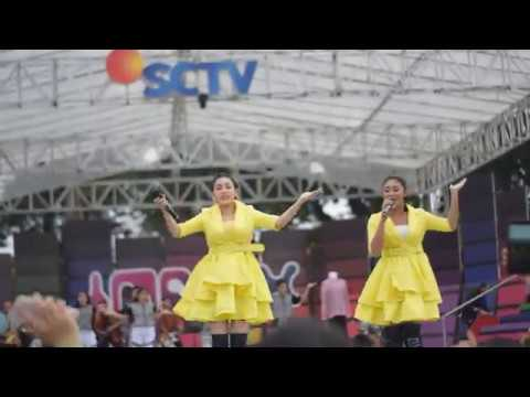 DUO ANGGREK Inbox SCTV Di Medan Goyang Nasi Padang