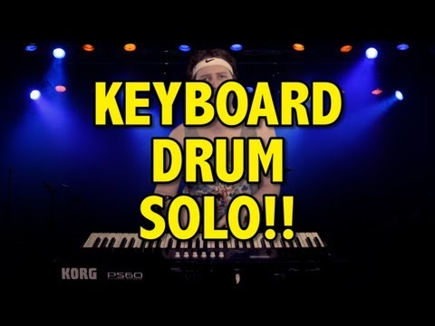 Keyboard Drum Solo!