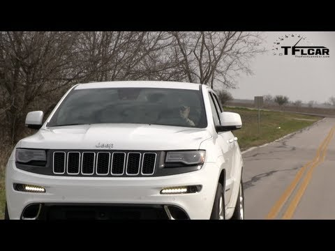 2014 Jeep Grand Cherokee SRT 0-60 MPH Launch Control Test
