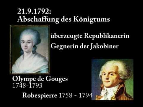 Olympe de Gauges - Feministin der Aufklärung konsequent bis zur Guillotine ...