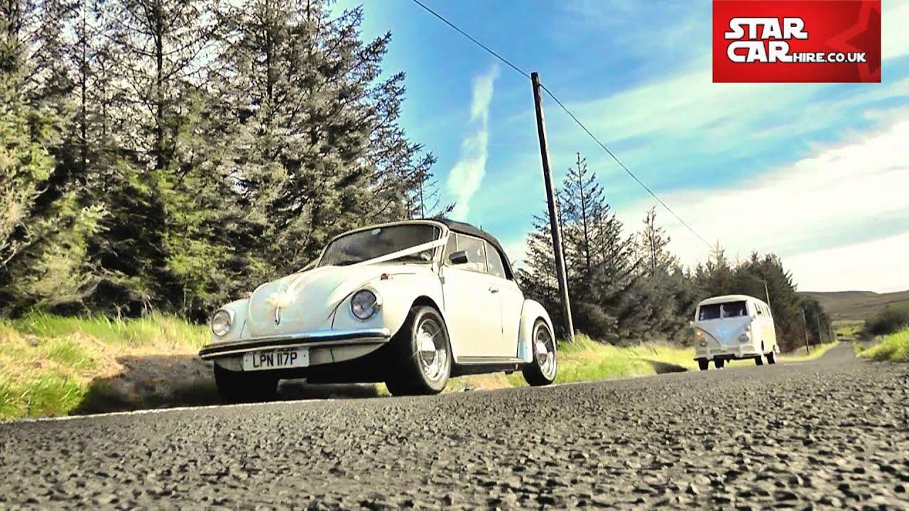 Vw Beetle Camper Van Wedding Car Hire Northern Ireland