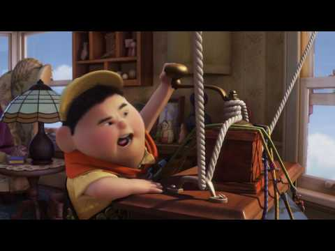 Up Russell on porch Full hd