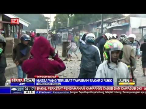 Tawuran Warga di Manggarai, Dua Ruko Dibakar #1