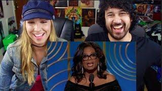 Download Lagu Oprah Winfrey Receives Cecil B. de Mille Award at the 2018 Golden Globes REACTION!!! Gratis STAFABAND