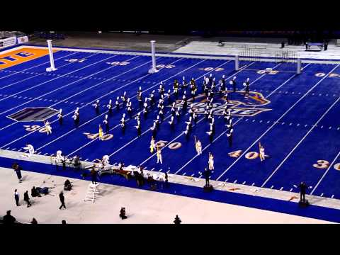 Centennial High School Marching Band - District III Marching Competition, 2012