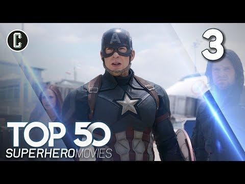 Top 50 Superhero Movies: Captain America: Civil War - #3