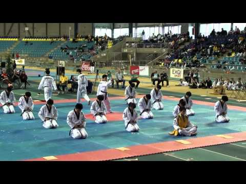 Kukkiwon Taekwondo Demonstration (2012 Belgian Open) video