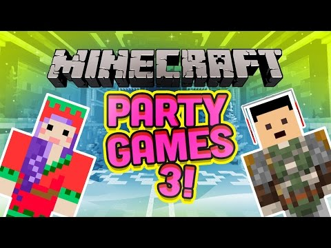 TIME TO PARTY! Minecraft Party Games 3 - Mini Games