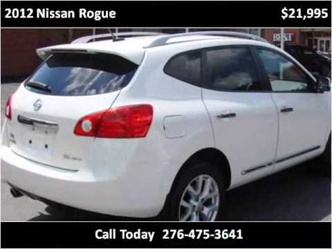 2012 Nissan Rogue Used Cars Damascus VA