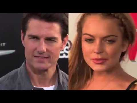 Lindsay Lohan Denies Rumours That She Is Secretly Dating Tom Cruise