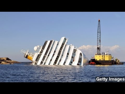 Costa Concordia Finally Arrives At Port Of Genoa