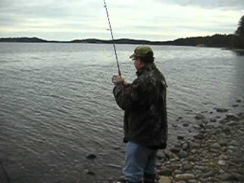 Fishing wachusett reservoir youtube for Mass fishing regulations