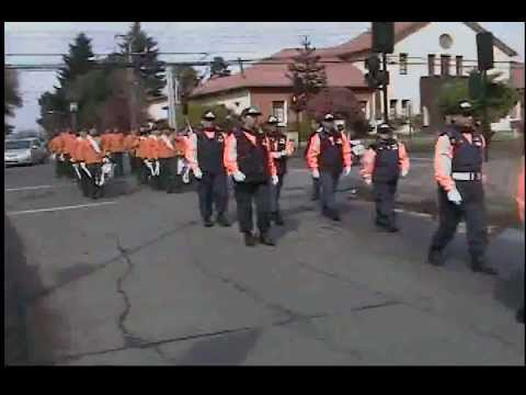 Desfile Defensa Civil Temuco 18/09/2012