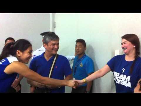 Watch: Alyssa Valdez Meets Superfan Angelica Panganiban video