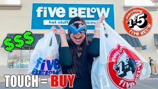 Buying EVERYTHING I Touch Blindfolded Challenge!