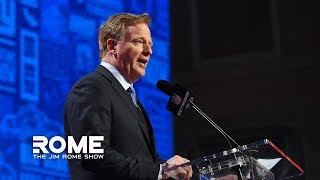 Roger Godell Is Fine With HORRIBLE NFL Officiating | The Jim Rome Show