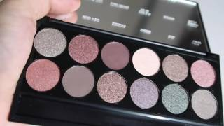 Sleek Goodnight Sweetheart i-Divine Palette Swatches