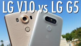 LG G5 vs LG V10: Phablet or Flagship? (LG Fight Pt.2) | Pocketnow
