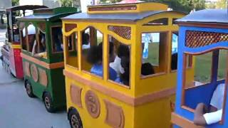 Trackless train (Gara tren)