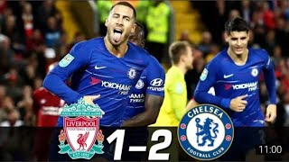|Liverpool vs Chelsea 1-2 match highlights| |premier league| |fifa19|