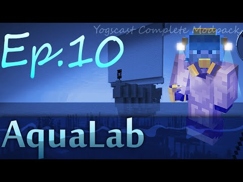 Small Brawl & Glass Dome | (aqualab) Yogscast Complete Modpack | Ep.10 video