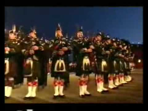 Edinburgh Bagpipers Millitary Tattoo