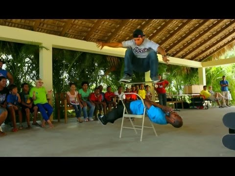 Skateboarder Luis Tolentino returns to the Dominican Republic - Ep 2