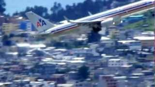 American Airlines Boeing 757-200 TakeOff / Despegue - Quito - RWY 17