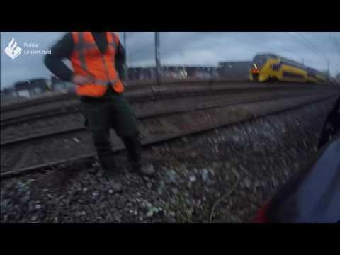 Politie Leiden Zuid - Aanrijding trein