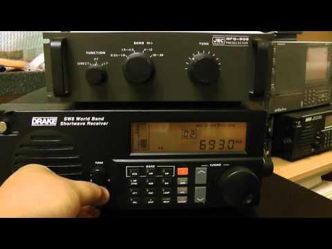 MW-DX 693kHz Radio BANGLADESH BETAR - Dhaka / Drake SW8