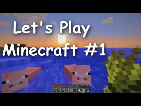 Lets Play Minecraft Survival Part 1 The Journey Begins