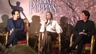 Mary Poppins Returns Paris Press conference