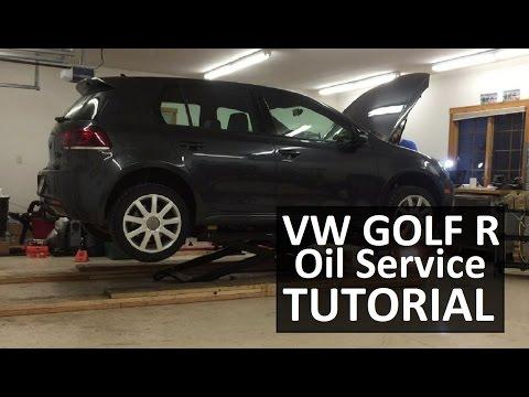 How To Change Your Oil   Volkswagen Golf R 2.0 TSI. FSI. TFSI