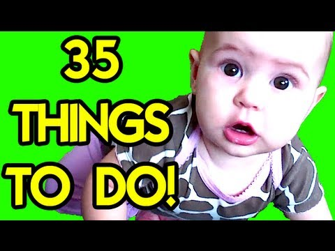 35 THINGS TO DO with a CUTE BABY in a HOTEL!!!