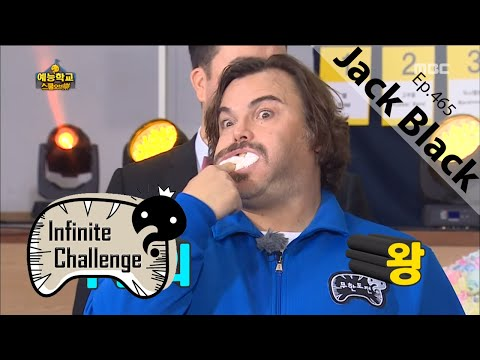 Jack Black in a Korean TV show today