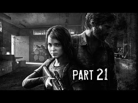 The Last of Us Remastered Gameplay Walkthrough Part 21 - University (PS4)