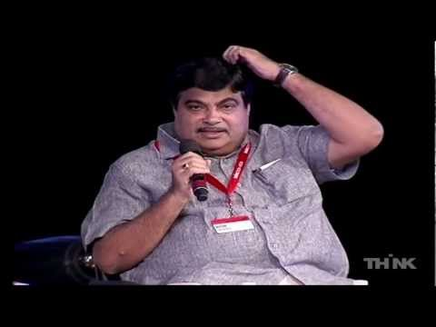 Nitin Gadkari at THiNK 2011