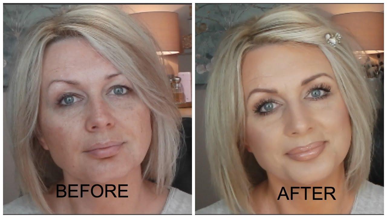 Makeup for older hooded eyes