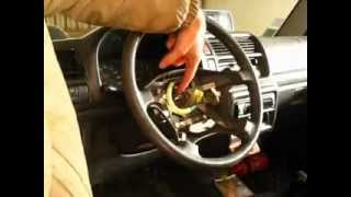 démontage volant jimny, JB43, Disassembly of the steering wheel