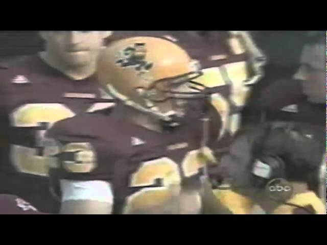 ASU RB Tom Pace 36 yard touchdown run vs. Oregon 10-28-2000