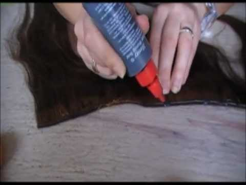 DIY Halo / flip in hair extensions tutorial part 1 of 2