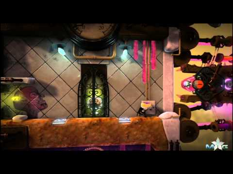 Little Big Planet 2 Walkthrough - Victoria's Laboratory - Kling Klong